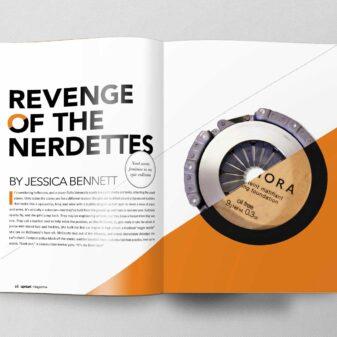 Revenge of the Nerdettes Magazine Article